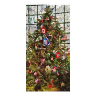 Christmas - An American Christmas Personalized Photo Card