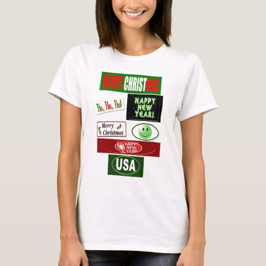 Christmas and Happy New year T-Shirt
