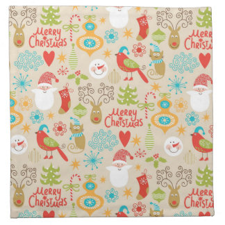 Christmas and New Year Napkin