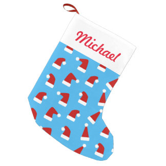 Christmas And New Year Pattern Of Santa Small Christmas Stocking