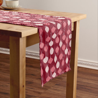 Christmas and New Year pattern Short Table Runner