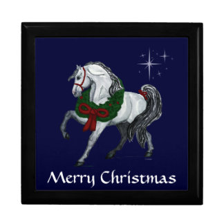 Christmas Andalusian Horse Gift Box