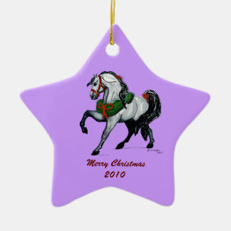 Christmas Andalusian Horse Ornament