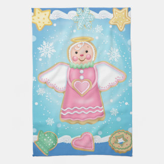 Christmas Angel Cookie Kitchen Towel