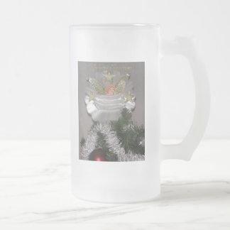 Christmas Angel Frosted Mug