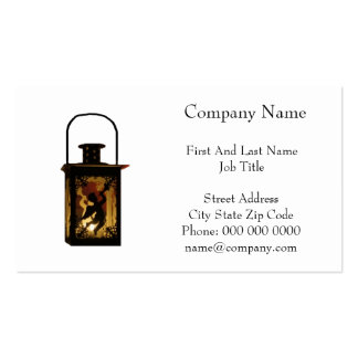 Christmas Angel Lantern Pack Of Standard Business Cards