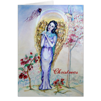 Christmas Angel Love Card
