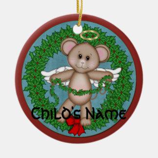 Christmas Angel Mouse Christmas Ornament
