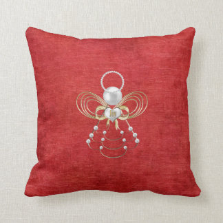 Christmas Angel of Joy - Red Pillows