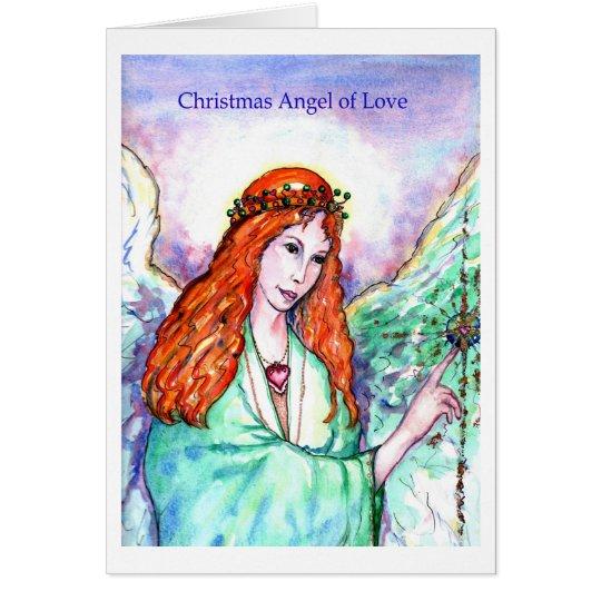 Christmas Angel of Love Card