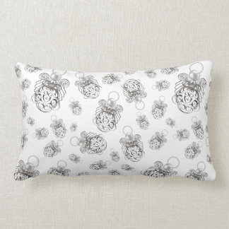 Christmas Angel of Peace Holiday Collage Pattern Pillows