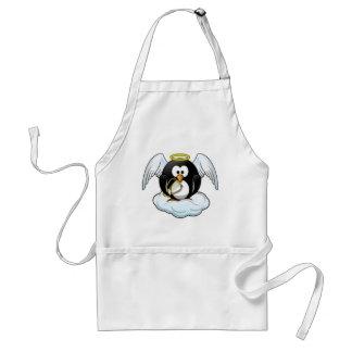 Christmas Angel Penguin Standard Apron