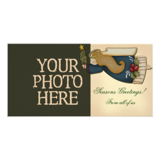 Christmas Angel Photo Card Template