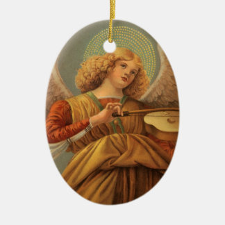 Christmas Angel Playing Violin Melozzo da Forli Christmas Ornament
