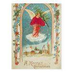 Christmas Angel Post Card