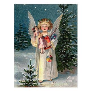 """""""Christmas Angel"""" Postcard"""