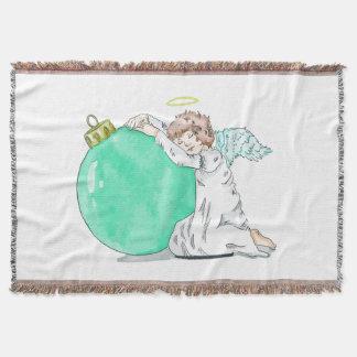 Christmas Angel throw blanket