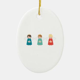 Christmas Angels Christmas Ornament