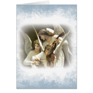 Christmas Angels holiday card