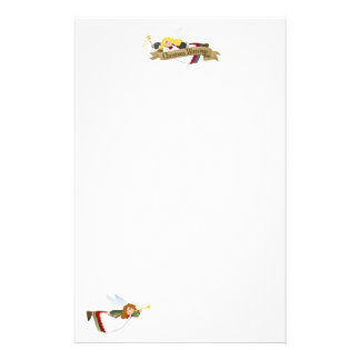 Christmas Angels Letterhead / Stationery