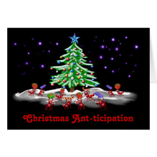Christmas Ant-ticipation Card