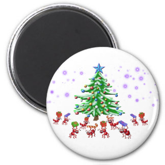 Christmas Ant-ticipation Magnet