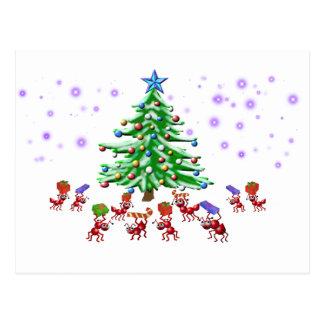 Christmas Ant-ticipation Postcards