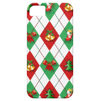 Christmas Argyle Decorated iPhone 5 Cases