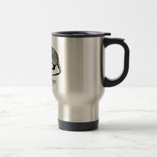 Christmas Armadillo Travel Mug