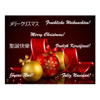 Christmas Around the world Postcards