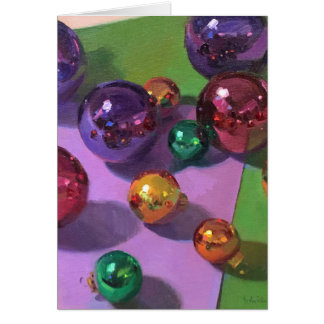 """Christmas Art Card """"All That Glitters"""""""