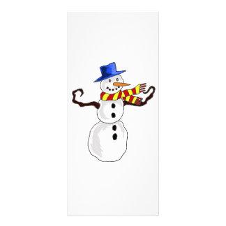 Christmas  Art Rack Card Template