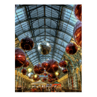 Christmas at Covent Garden, London Postcard