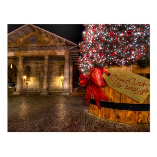 Christmas at Covent Garden, London Postcard