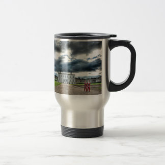 Christmas at Queen's House, Greenwich London Travel Mug
