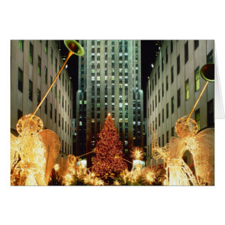 Christmas at Rockefeller Center Greeting Card