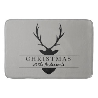 CHRISTMAS AT THE .... BATH MAT