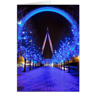 Christmas at the London Eye Card