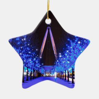 Christmas at the London Eye Christmas Ornament