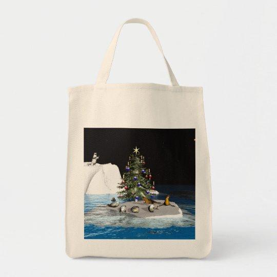 Christmas At The North Pole Tote Bag
