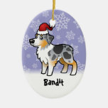 Christmas Australian Shepherd Christmas Ornaments