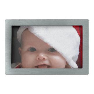 Christmas baby rectangular belt buckles