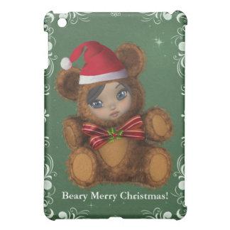 Christmas Baby Santa Bear Shae iPad Mini Cases