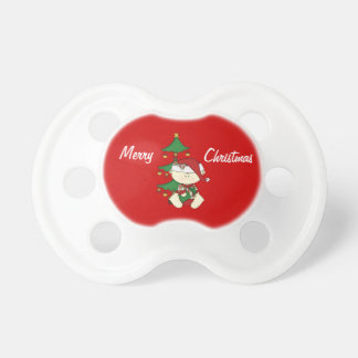 Christmas Baby+Tree Baby Pacifier