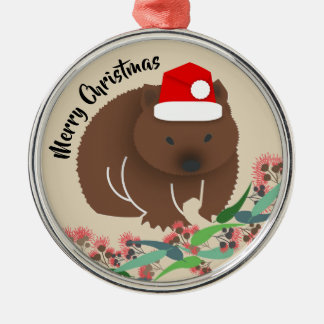 Christmas Baby Wombat Christmas Ornament