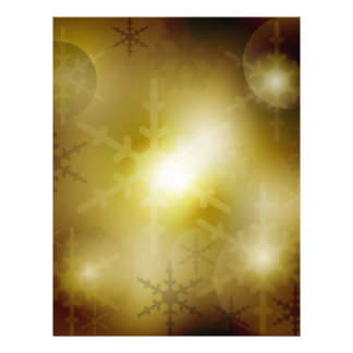 Christmas Background 21.5 Cm X 28 Cm Flyer