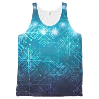 Christmas Background All-Over Print Tank Top