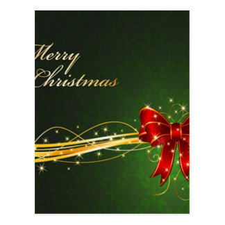 Christmas background design postcard