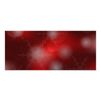 Christmas Background 4x9.25 Paper Invitation Card