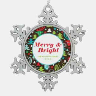 Christmas background pattern wrapping snowflake pewter christmas ornament